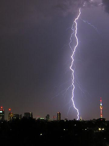 Bolt of Light over Vienna