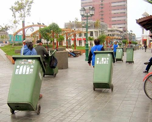Limpiando Iquique