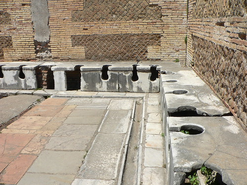 Flickriver mrjennings 39 s photos tagged with latrinae for Mr arredamenti ostia antica