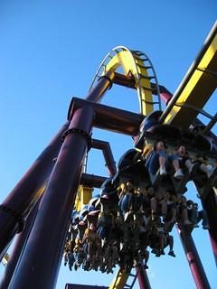 Image of Vampire. rollercoaster coasters rollercoasters laronde montreal bm vampire