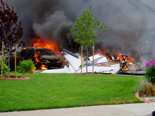Plane Crash I, July 25, 2004 - Fort Collins, Colorado | Flickr