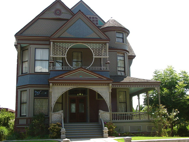 Victorian House In Echo Park Flickr Photo Sharing
