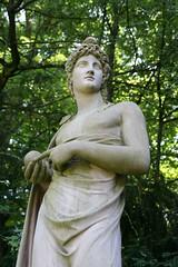 Statue in Nymphenburg