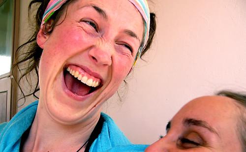 Jayantii Laughing