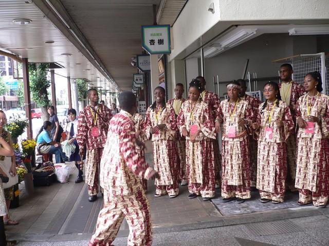 African Choir in Kyoto