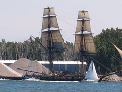 sail, sailboat, vehicle, mast, lugger, galeas, tall ship, watercraft, scow, boat, brig, brigantine,
