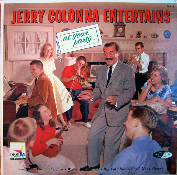 Jerry Colonna - Jerry Colonna Entertains At Your Party album cover