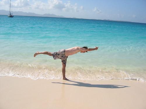 yoga attempt