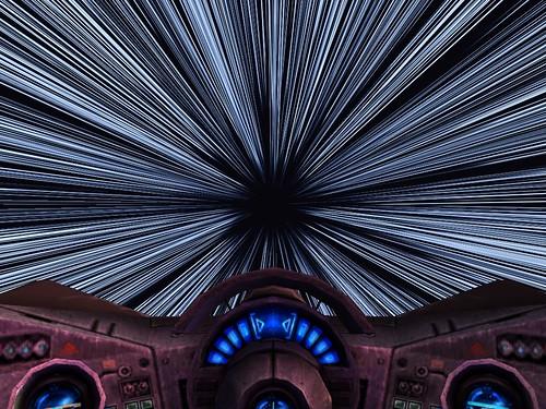 Resultado de imagen de Viajar a las estrellas por el Hiperespacio