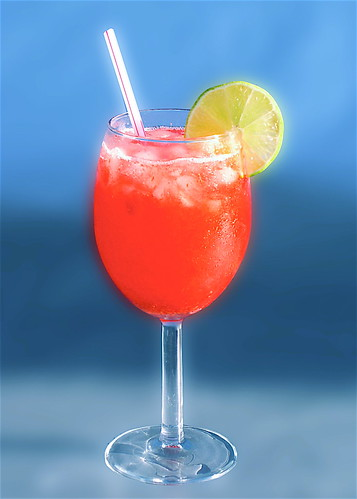 Raspberry Lime Rickey