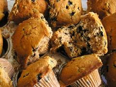 Wild Blueberry Buttermilk Cinnamon Muffins