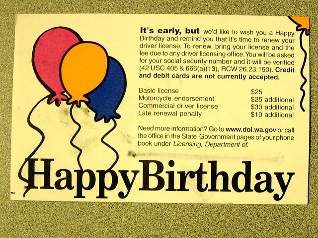 Worst Birthday Card