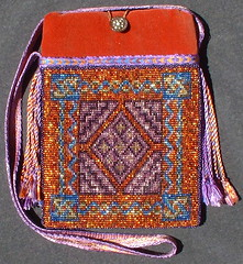 celtic carpet bag in sun