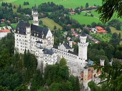 Neuschwanstein (Postkartenperspektive)