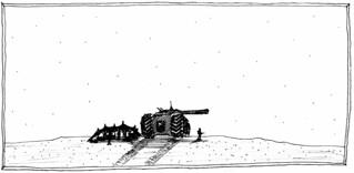 Tank Landscape, 1990