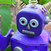 purple robot by peyri