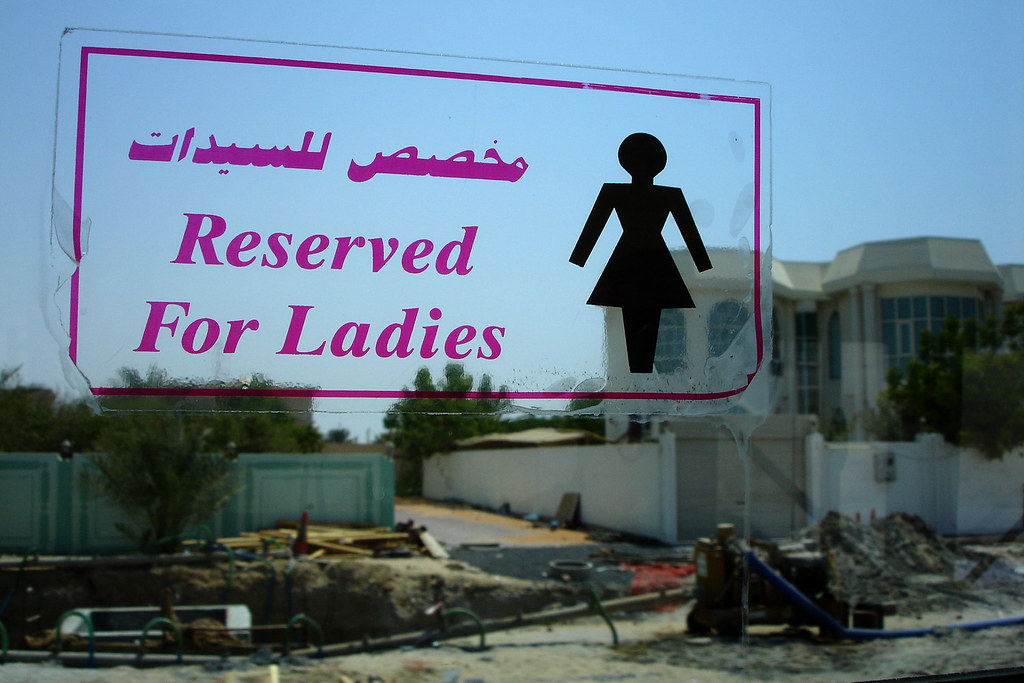 Reserved for ladies