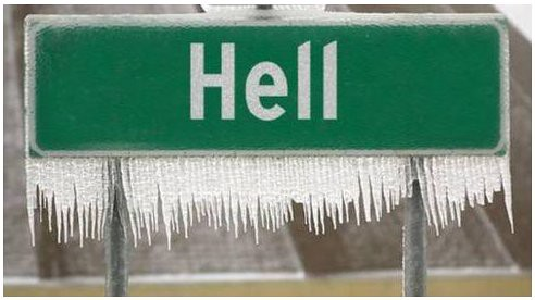 When Hell Froze Over
