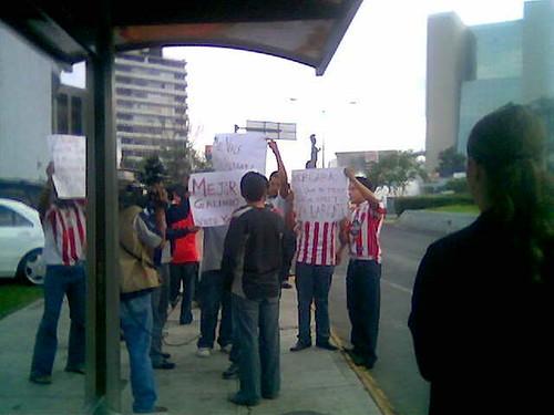 Manifestación Chiva