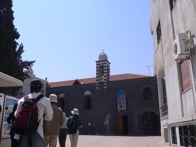 マリアのベルトのある教会