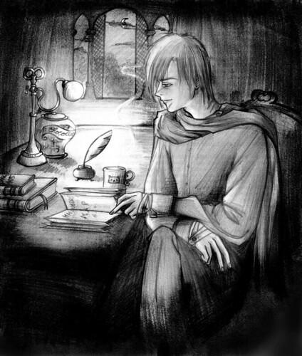 Remus Lupin Dibujo