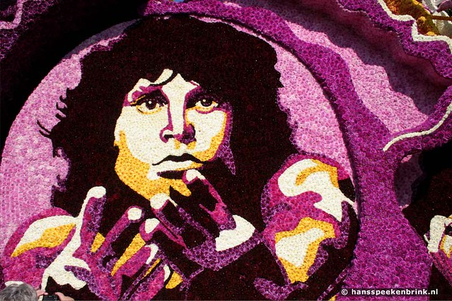 Jim Morrison Flower-Pop