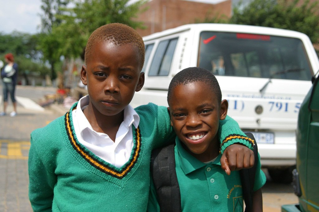 Soweto children, South Africa