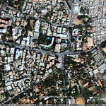 Yahoo! Bangalore from satellite