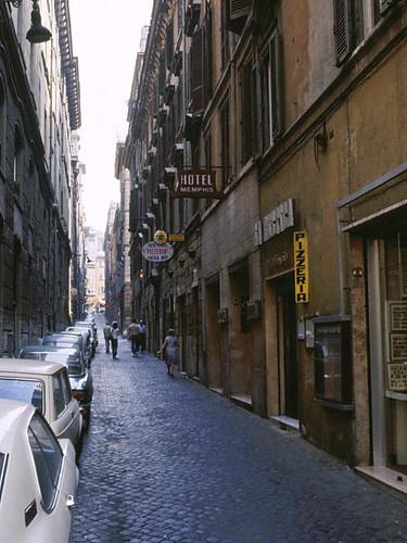 Via Degli Avignonesi (Our Street)