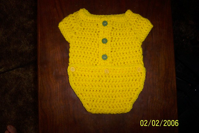 Crochet Onesie Pattern Free Patterns For Crochet