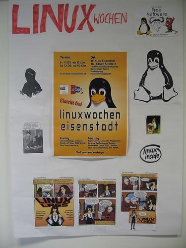 Linux weeks, poster