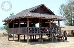 boathouse(0.0), cottage(0.0), gazebo(0.0), resort(0.0), home(0.0), outdoor structure(1.0), hut(1.0), wood(1.0), shack(1.0), pavilion(1.0), log cabin(1.0),