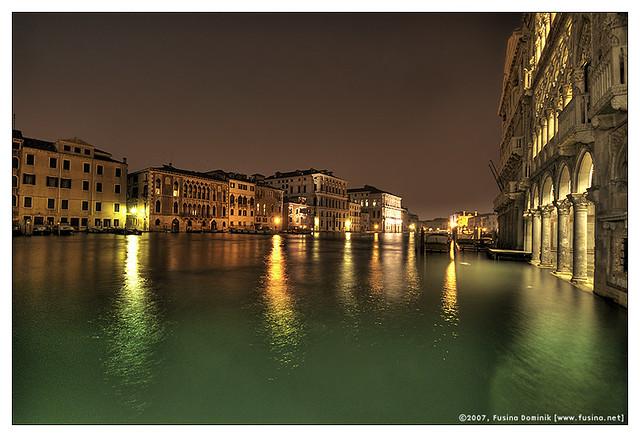 Venezia and the gran canal