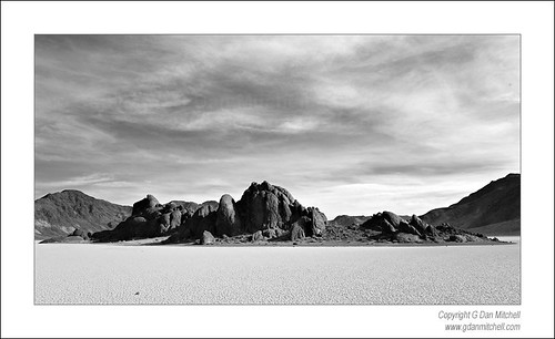 The Grandstand, Racetrack Playa. Death Valley National Park