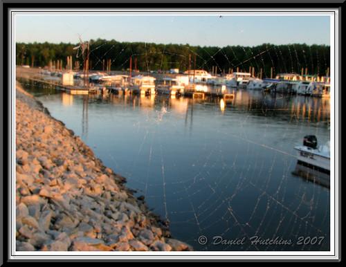 sunset lake water colors outdoors nc may lakejordan