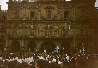 Rite of Peace, Pueri Cantores, Salamanca
