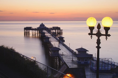Pier Before Sunrise