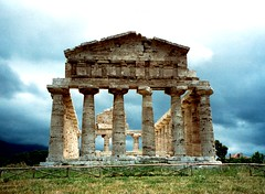 The Temple of Athena - Paestum, Italy