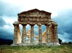 The Temple of Athena - Paestum, Italy
