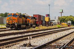 BNSF 6643 | GE ES44C4 | BNSF Thayer South Subdivision