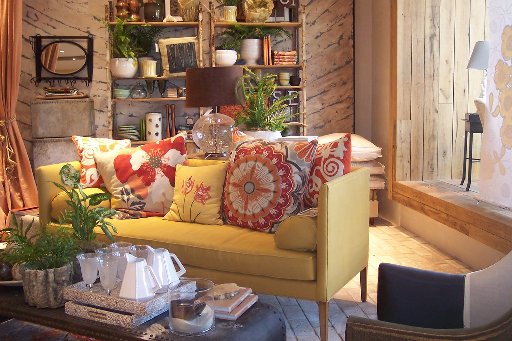 Anthropologie Living Room Style