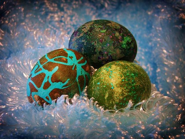 Industrial Easter Eggs