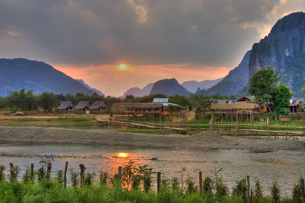 Laos Sunsett
