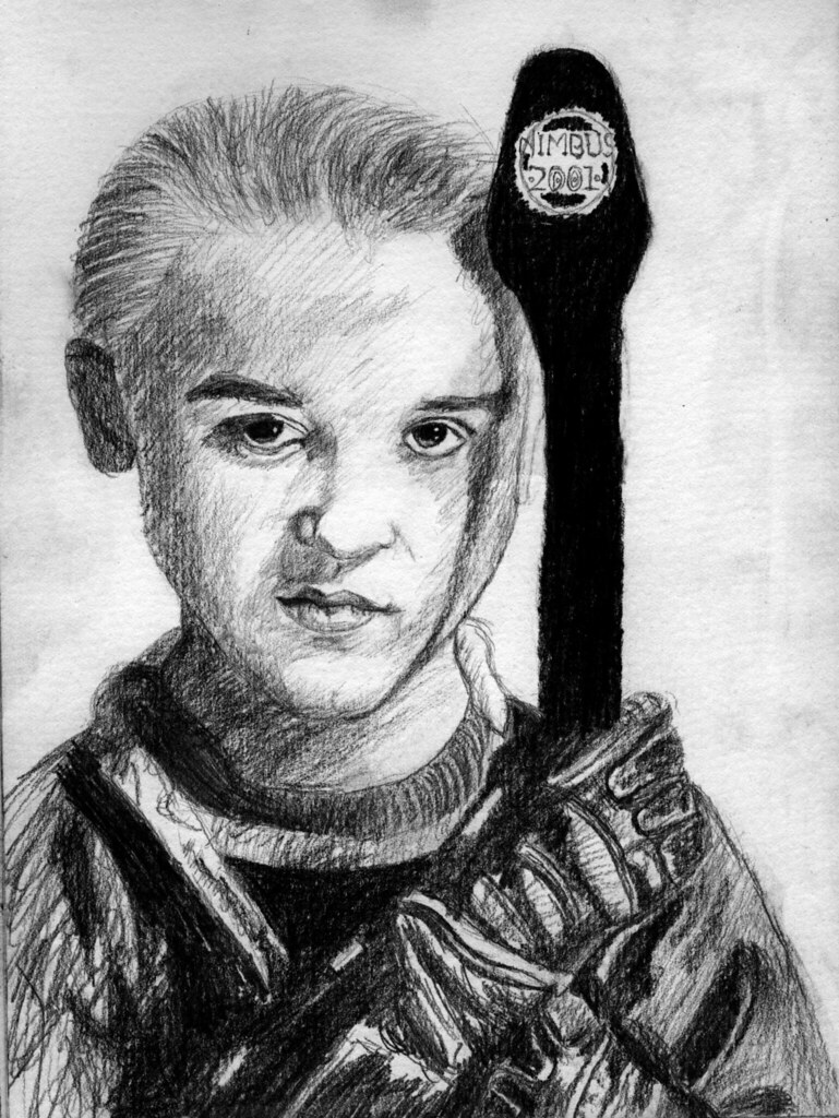 Draco Malfoy Drawing Title Says It All L Whittaker Flickr