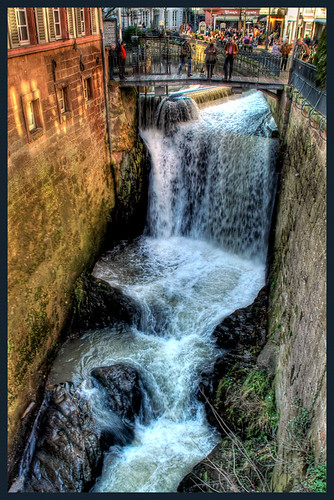 waterfall in saarburg