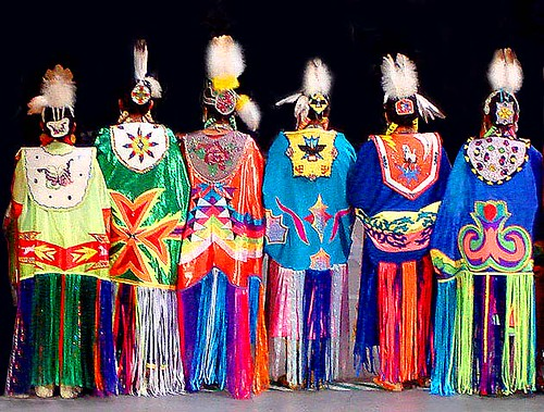 Native American Fancy Shawl Dresses http://www.flickr.com/photos/nihihiro/484318355/