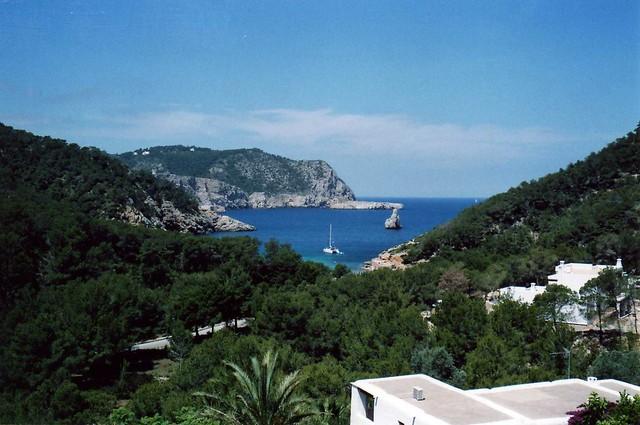 Beneiras Bay from Villa Palmas - Ibiza - Balearic Islands, Spain