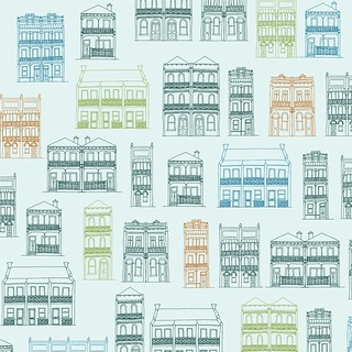 Victorian Terraces Pattern