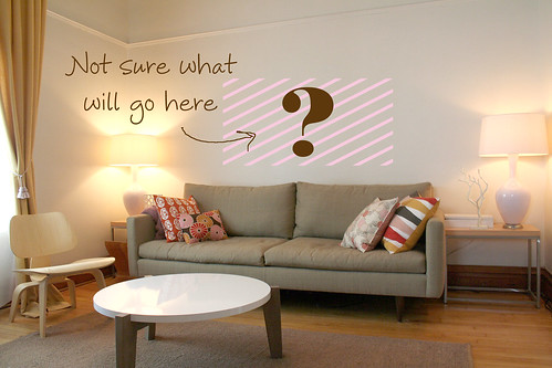 Above the sofa making it lovely Over the sofa wall decor ideas