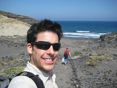 Ma grosse face sur la playa